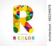 "letter ""r"" business colorful... 