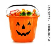 Halloween Jack O Lantern Candy...