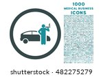 smoking taxi driver rounded... | Shutterstock . vector #482275279