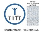 religion adepts rounded glyph... | Shutterstock . vector #482285866