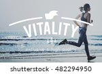 Small photo of Vitality Vital Vigorous Live Life Energy Active Concept