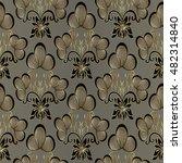 royal luxury  baroque damask...   Shutterstock .eps vector #482314840