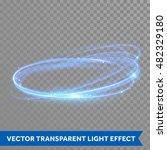 Vector Neon Light Circle In...