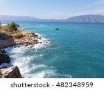 vlore albania ionian sea... | Shutterstock . vector #482348959