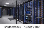 rackmount led console in server ... | Shutterstock . vector #482359480