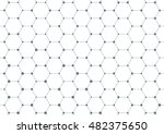 connection structure molecule... | Shutterstock .eps vector #482375650