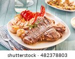 Well Done Style T Bone Steak...