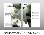 brochure layout template flyer... | Shutterstock .eps vector #482395678