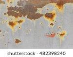 rusty metal surface   Shutterstock . vector #482398240