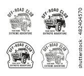 stock vector off road club... | Shutterstock .eps vector #482404570