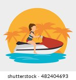 extreme sports design isolated   Shutterstock .eps vector #482404693