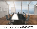 conference room interior design ... | Shutterstock . vector #482406079