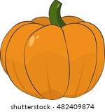 pumpkin illustration   Shutterstock .eps vector #482409874