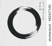 zen black circle  vector | Shutterstock .eps vector #482427100