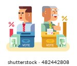 elections candidates characters | Shutterstock .eps vector #482442808