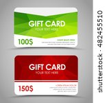 design gift cards of different... | Shutterstock .eps vector #482455510
