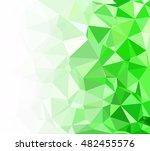 green polygonal mosaic...
