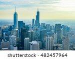 chicago  illinois   october 15  ... | Shutterstock . vector #482457964