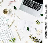 wedding planner schedule... | Shutterstock . vector #482462638