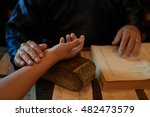 asian traditional practitioner...   Shutterstock . vector #482473579