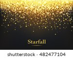 falling stars background ... | Shutterstock .eps vector #482477104