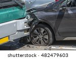 Car Accident  Bumper To Bumper