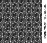 geometric seamless pattern | Shutterstock .eps vector #482500036