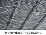 metal roofing and lighting.... | Shutterstock . vector #482502040