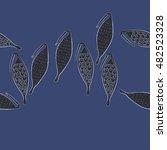 seamless   horizontal  pattern...   Shutterstock .eps vector #482523328