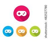 modern video game controller... | Shutterstock .eps vector #482527780