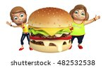 3d rendered illustration of kid ... | Shutterstock . vector #482532538