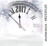 2017 new year gray background... | Shutterstock .eps vector #482539120