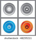 on off button | Shutterstock . vector #48255211