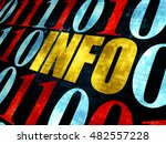 information concept  pixelated... | Shutterstock . vector #482557228