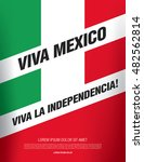 mexican translation of the... | Shutterstock .eps vector #482562814