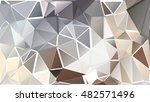 abstract pattern consisting of... | Shutterstock .eps vector #482571496