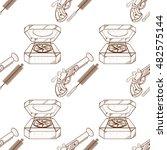 seamless pattern for design... | Shutterstock .eps vector #482575144