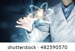 innovative technologies in... | Shutterstock . vector #482590570