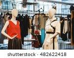 women clothing shop | Shutterstock . vector #482622418