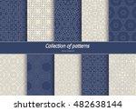 set in an arabian style... | Shutterstock .eps vector #482638144