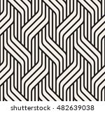 vector seamless pattern. modern ... | Shutterstock .eps vector #482639038