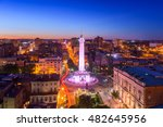 baltimore  maryland  usa... | Shutterstock . vector #482645956