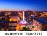 baltimore  maryland  usa... | Shutterstock . vector #482645956