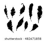 feather vector illustration... | Shutterstock .eps vector #482671858