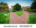 walkway outside the maryland... | Shutterstock . vector #482688019