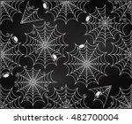 vector set of chalkboard style... | Shutterstock .eps vector #482700004