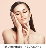beauty spa woman with perfect... | Shutterstock . vector #482721448