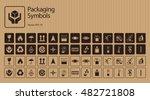 Vector Packaging Symbols Set O...