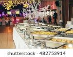 catering food wedding  | Shutterstock . vector #482753914