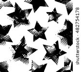 abstract seamless stars pattern.... | Shutterstock .eps vector #482754178